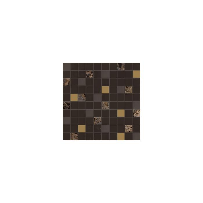 Текстура плитки Giselle Mos.Mini Marron 31.5x31.5