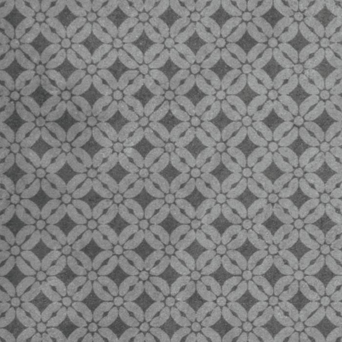 Текстура плитки Superfici Fiore Grigio 20x20