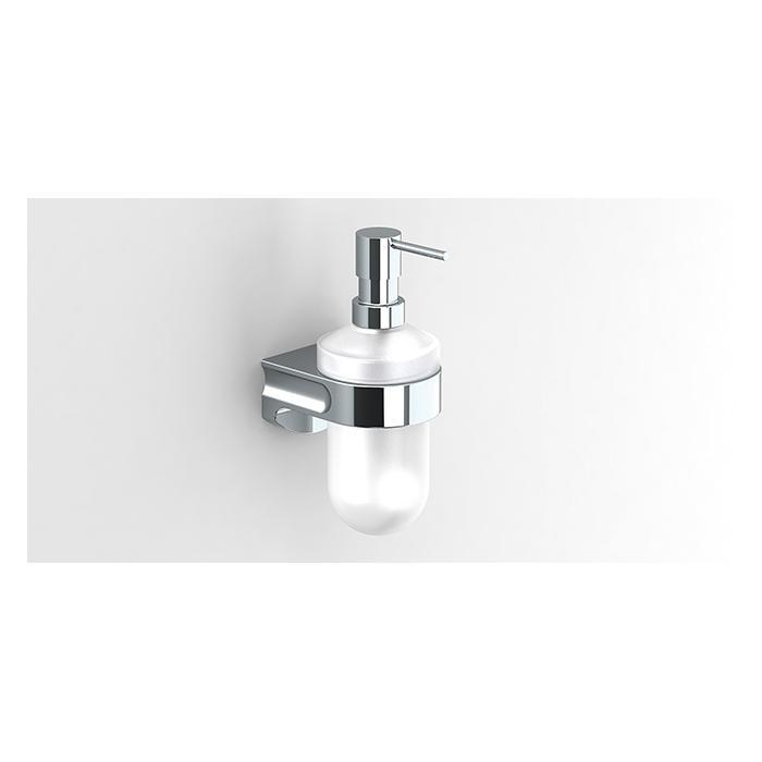 Фото сантехники S1 Дозатор для жидкого мыла, стекло/хром