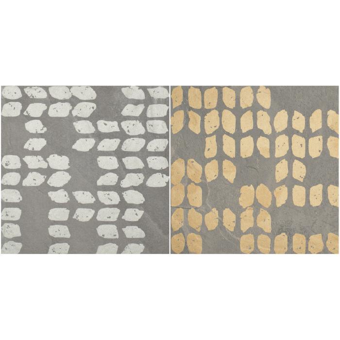 Текстура плитки Decoro Tracce3 Slate Grigio 20x20