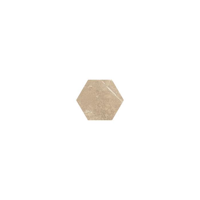 Текстура плитки Tosi Beige Hexagon Poler 17.1x19.8