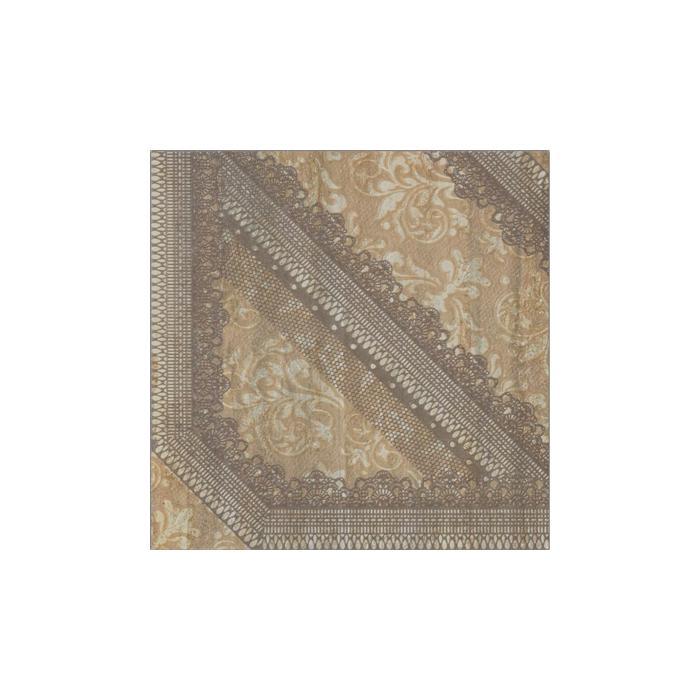 Текстура плитки V-Stone Dec.Arabesque Amber Lap Rett 47.8x47.8