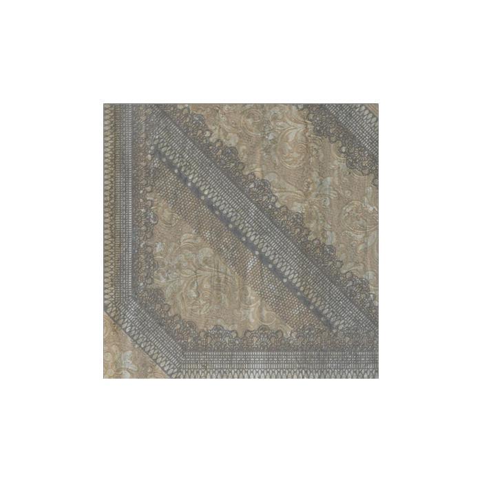 Текстура плитки V-Stone Dec.Arabesque Nut Lap Rett 47.8x47.8