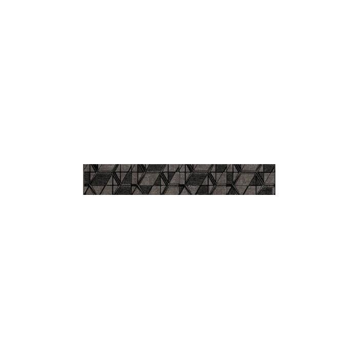 Текстура плитки Lensitile Grafit listwa 7.2x45
