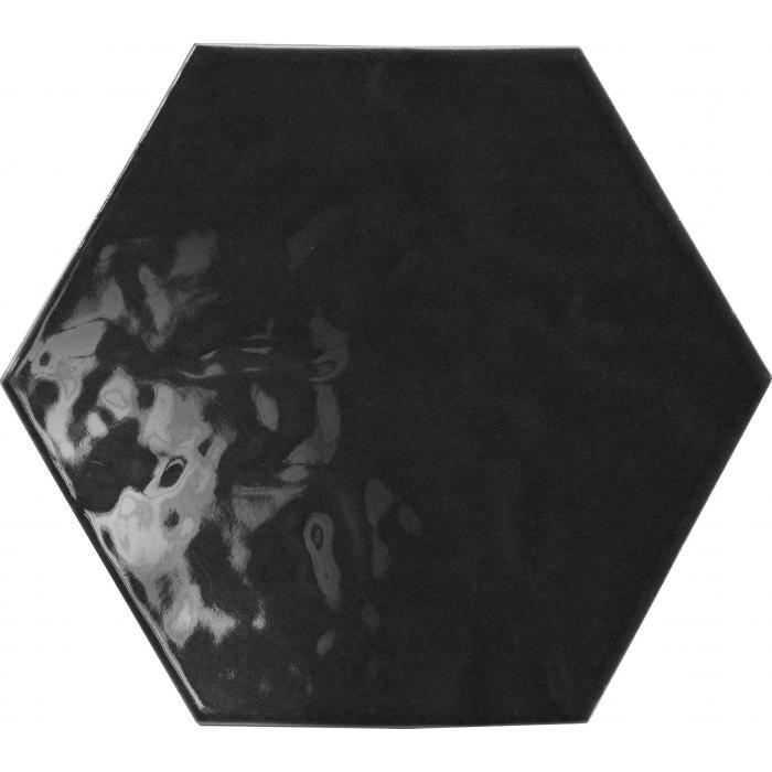 Текстура плитки Vezelay Black 17.5x20