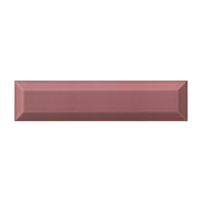 Текстура плитки Settecento Bissel Rosso Brillo 7.5x30
