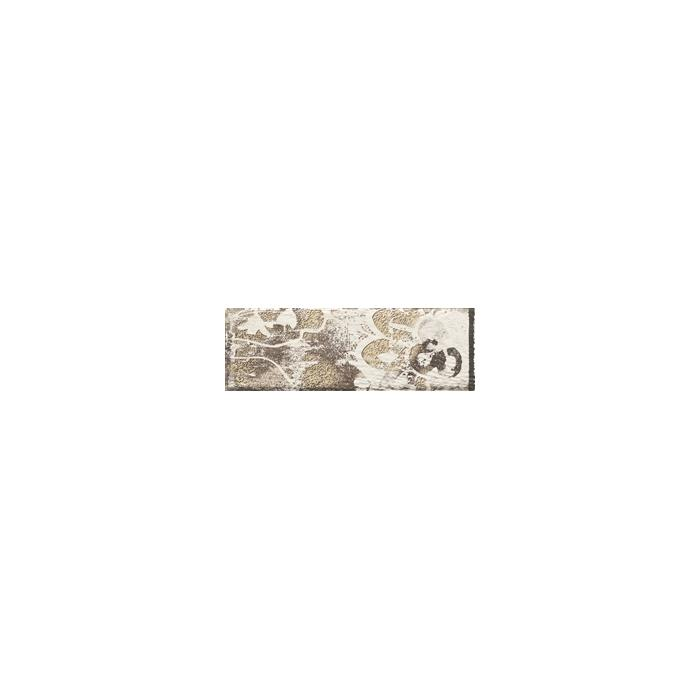 Текстура плитки Rondoni Bianco Inserto Str. A 9.8x29.8