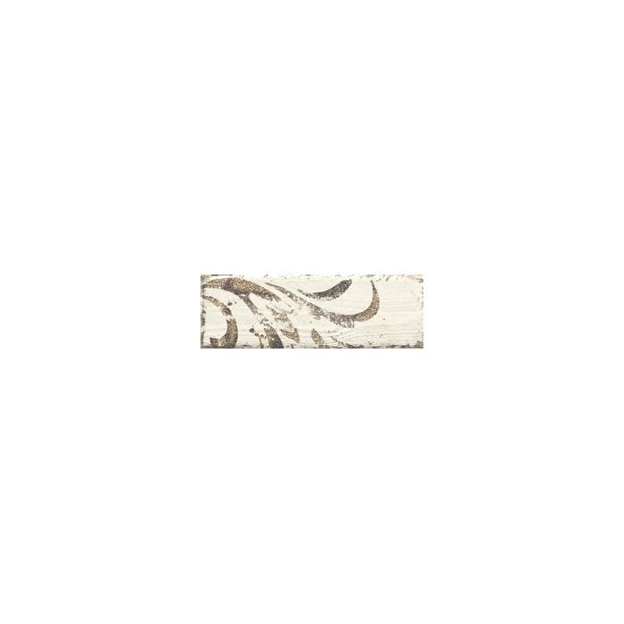 Текстура плитки Rondoni Bianco Inserto Str. B 9.8x29.8