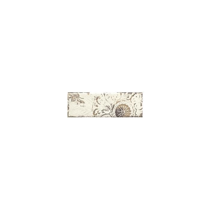 Текстура плитки Rondoni Bianco Inserto Str. C 9.8x29.8