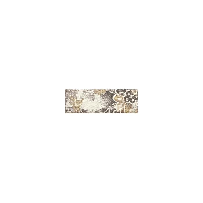 Текстура плитки Rondoni Bianco Inserto Str. D 9.8x29.8