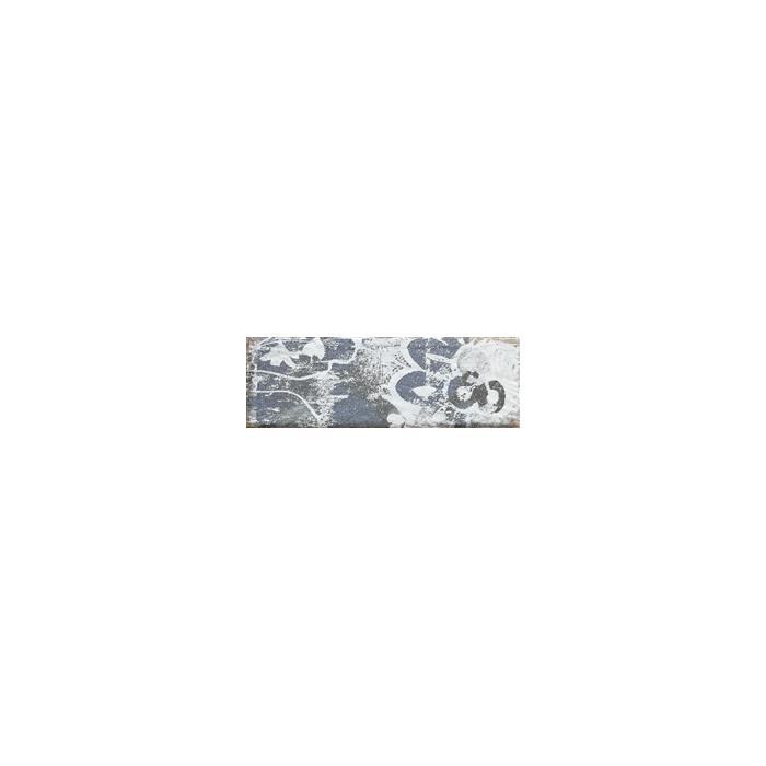 Текстура плитки Rondoni Blue Inserto Str. A 9.8x29.8