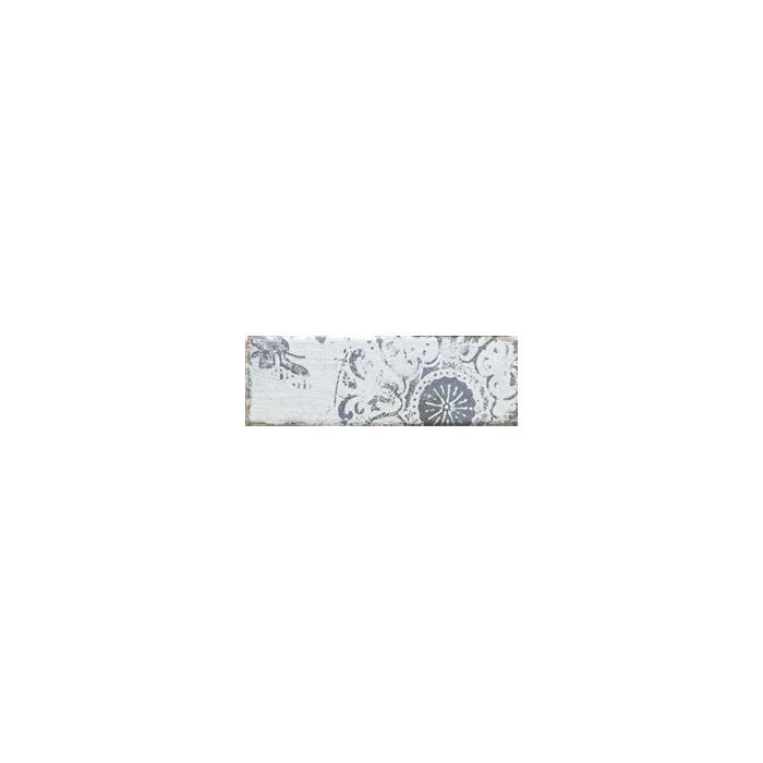 Текстура плитки Rondoni Blue Inserto Str. C 9.8x29.8