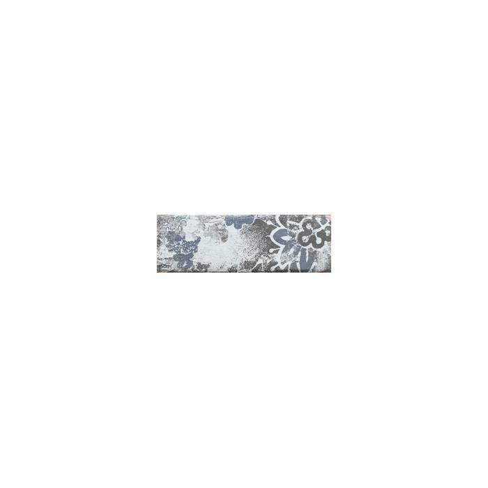 Текстура плитки Rondoni Blue Inserto Str. D 9.8x29.8