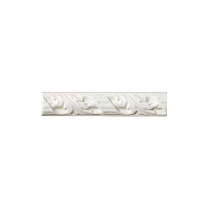 Текстура плитки Amarcord Fregio M Bianco Matt 4x20