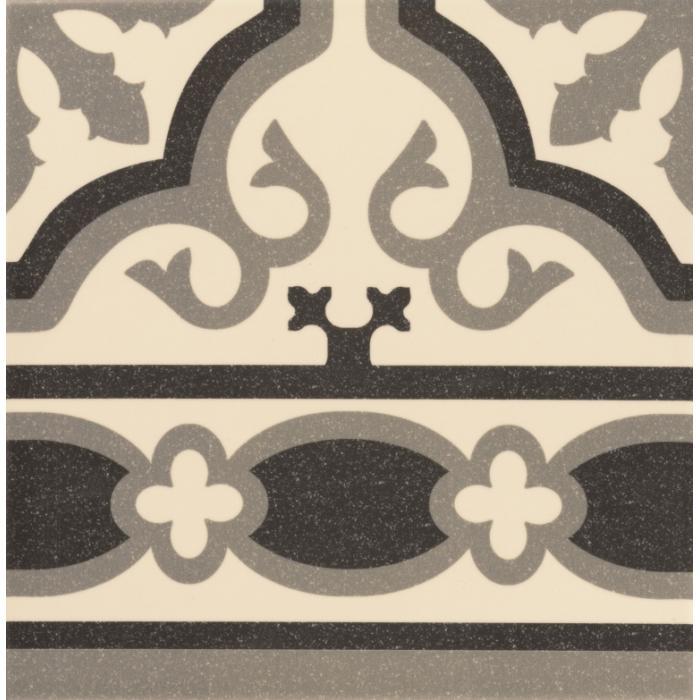 Текстура плитки Cenefa Florentine White 20x20