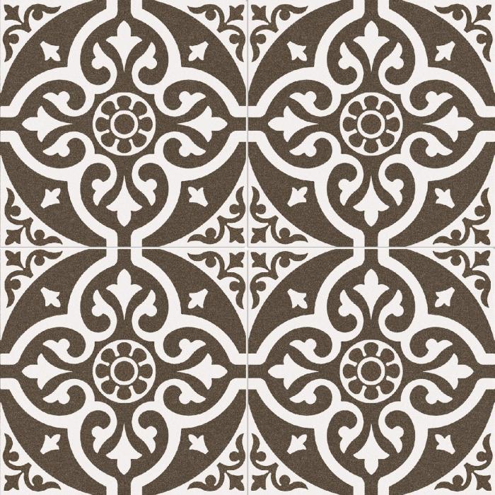 Текстура плитки Chester Black 45x45 - 2