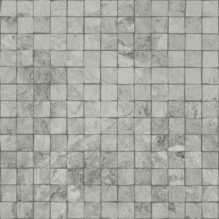 Текстура плитки Шарм Экстра Сильвер Мозаика Сплит Пат. 30x30