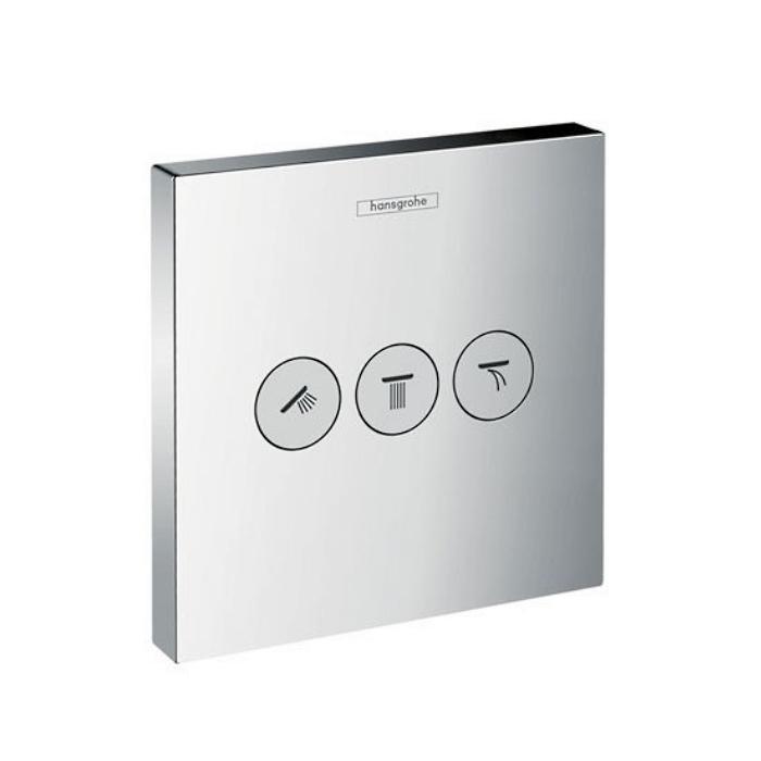 Фото сантехники Shower Select  Запорно-переключающее устройство для 3 потребителей, цвет хром