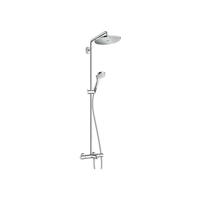 Фото сантехники Croma Select 280 Air 1jet Showerpipe Душевый гарнитур с термостатом для ванны, хром