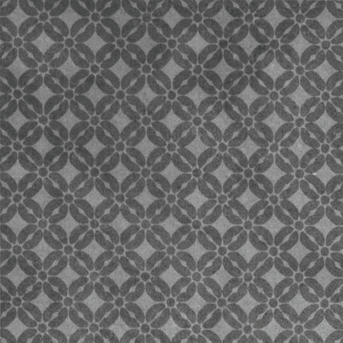 Текстура плитки Superfici Fiore Antracite 20x20