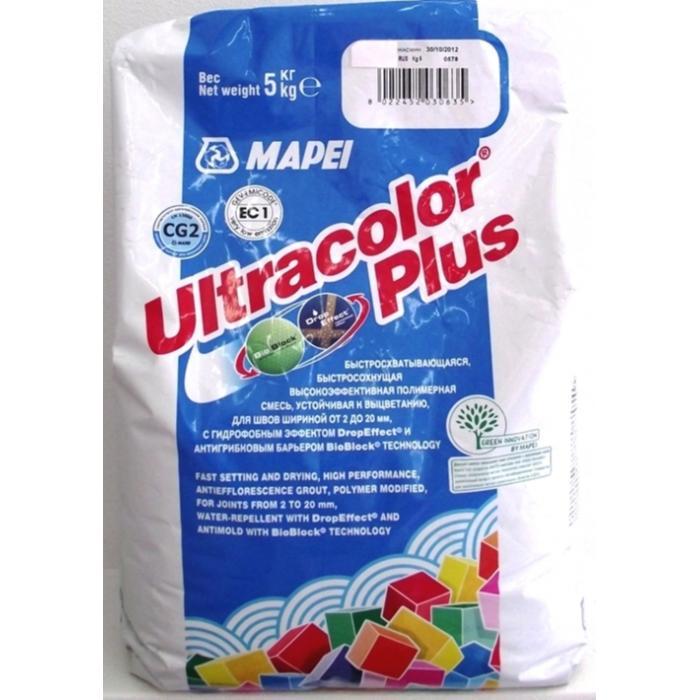 Строительная химия Ultracolor Plus 100  5 kg цвет белый затирка для швов - 2