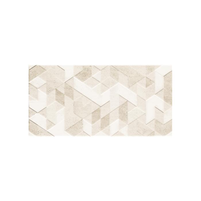 Текстура плитки Emilly Beige Struktura Dekor 30x60