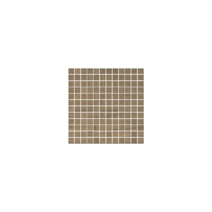 Текстура плитки Amiche Brown mozaika (2.3x2.3) 29.8x29.8