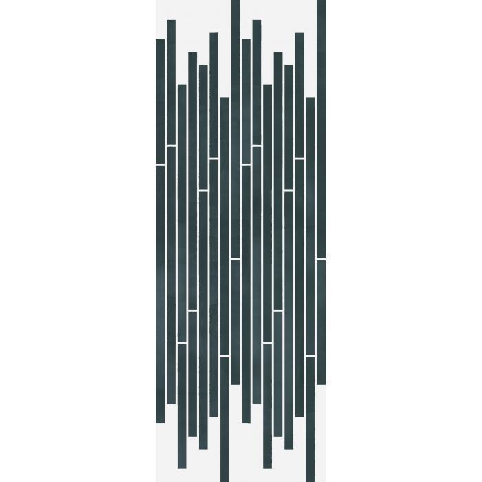 Текстура плитки Серфейс Кристалло Стрип Люкс Ретт. 26x75 (0,157м2)