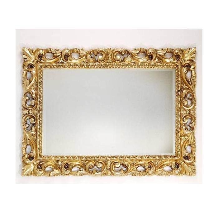 Фото сантехники Caprigo Зеркало в багете, 75х95, отделка золото