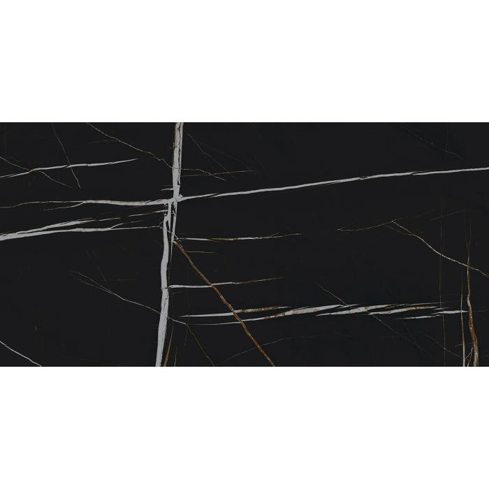 Текстура плитки Шарм Делюкс Сахара Нуар 60x120 Cer