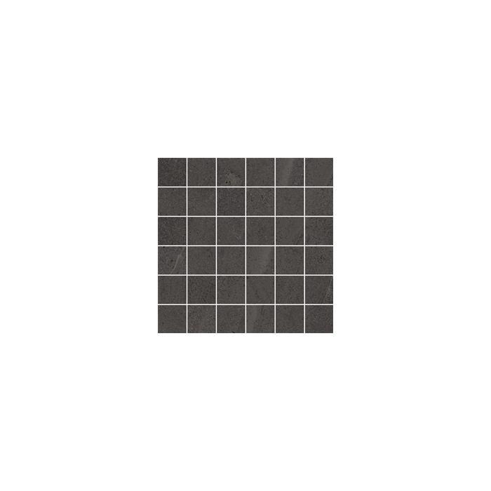 Текстура плитки Контемпора Карбон Мозаика Патт 30x30