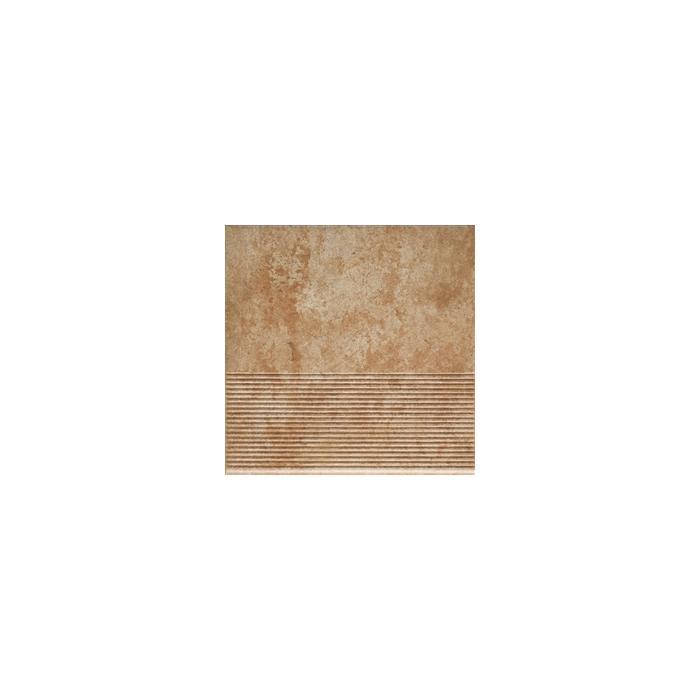 Текстура плитки Ilario Ochra Stopnica 30x30