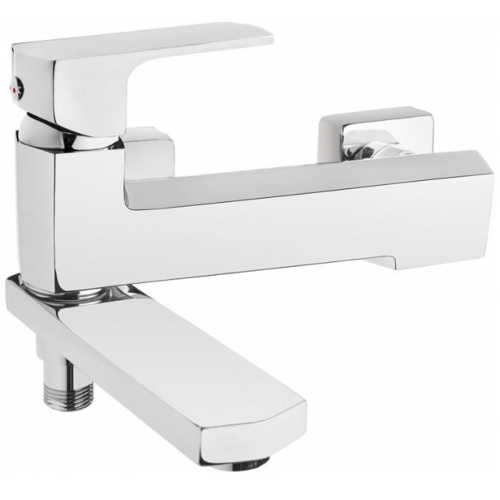 Фото сантехники MARUNA Смеситель для ванны короткий поворотный излив без душевого набора