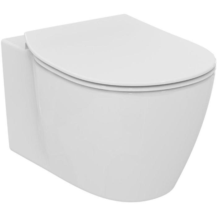 Фото сантехники Connect AQUABLADE подвесной унитаз с полностью скрытым креплением, цвет белый
