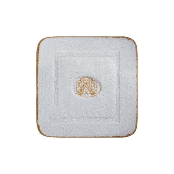 Фото сантехники Коврик для ванной комнаты 60х60 см,цвет белый