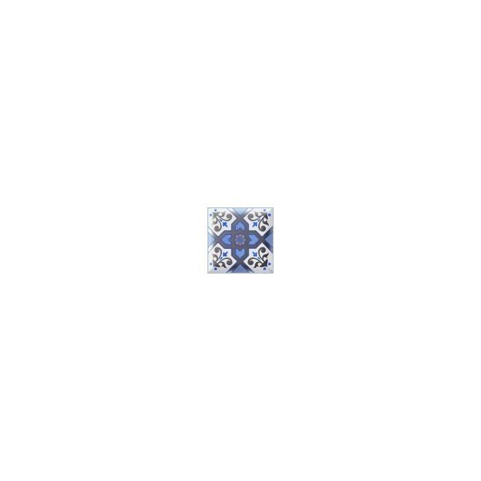 Текстура плитки Decor Esna Blu 15x15