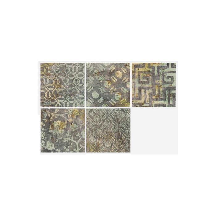 Текстура плитки Decor Pietro Blu 20x20