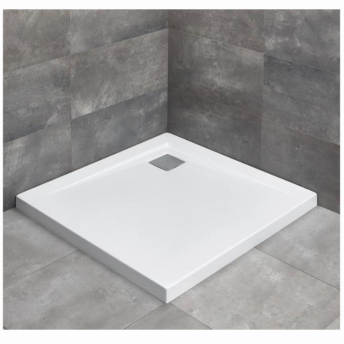 Фото сантехники Argos C1000 Поддон 1000х1000х55мм, цвет белый