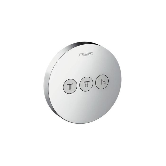 Фото сантехники Shower Select  S Запорно-переключающее устройство для 3 потребителей, цвет хром