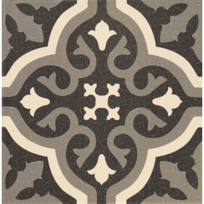 Текстура плитки Centro Florentine Black 20x20