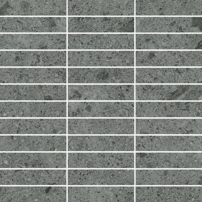 Текстура плитки Дженезис Сатурн Грей Мозаика Грид Нат. 30x30
