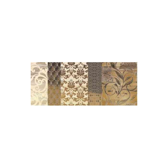 Текстура плитки Shine Oro Batic Dec.B 24x59 - 3