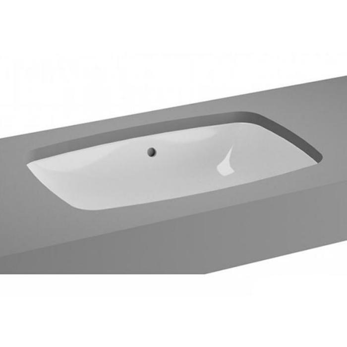Фото сантехники Metropole Раковина встраиваемая под столешницу 570х370, цвет белый