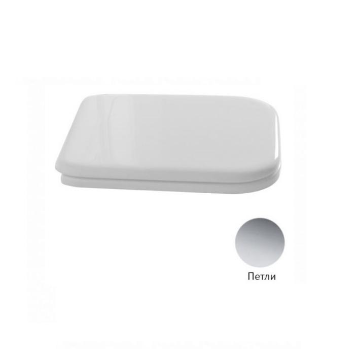 Фото сантехники Waldorf Сиденье для унитаза с плавным опусканием, цвет белый/хром