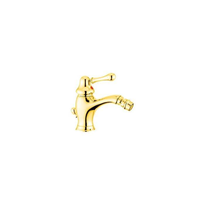 Фото сантехники Maya Смеситель для биде монокомандный, цвет золото
