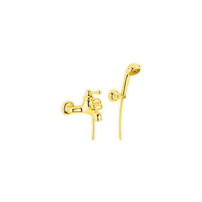 Фото сантехники Maya Смеситель для ванны монокомандный, внешний, цвет золото