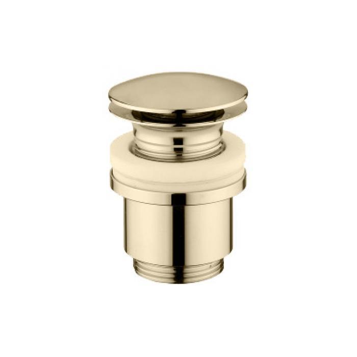 Фото сантехники Донный клапан click-clack под перелив, цвет бронза
