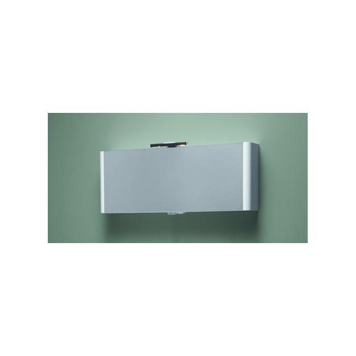 Фото сантехники Awe Зеркальный шкаф с подсветкой 100 см,цвет королевский белый, глянец - 3