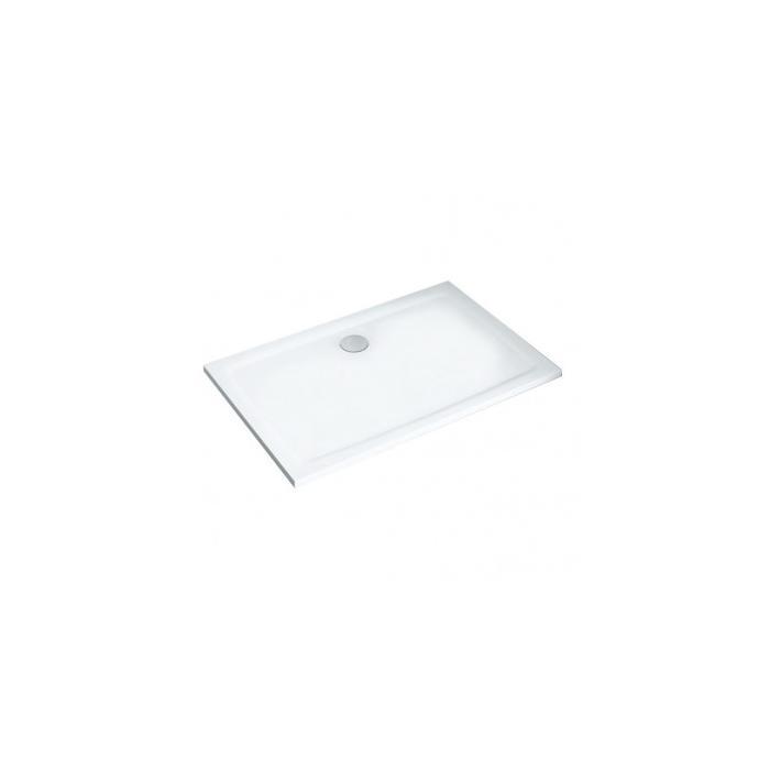 Фото сантехники Gigant Pro Душевой поддон Flat 120х90 см, цвет белый