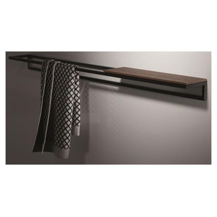 Фото сантехники BetteLux Shape Полотенцедержатель 420х120хh70мм, цвет черный